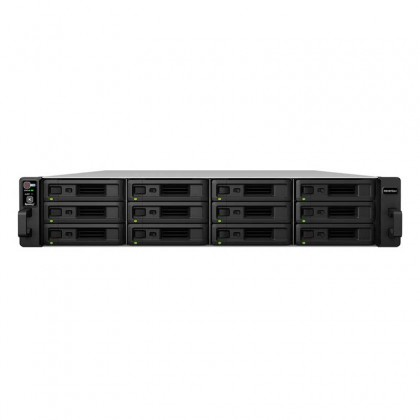 RS18016xs+ Nas Rack 12 Bahías - Intel Xeon E3 quad-core 3.3GHz, 8GB ECC