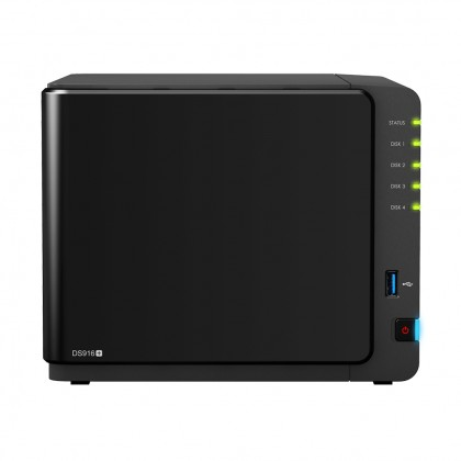 Synology DS916+  Vista frontal servidor NAS 9 bahías