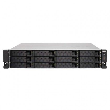 TS-1263U-RP-4G Nas 12 Bahías Rack - AMD 2.0GHz Quad Core 4GB DDR3L (Max. 16GB)
