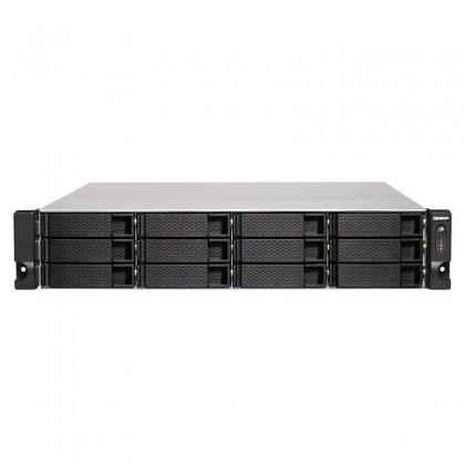 TS-1263U-RP-4G Nas 12 Bahías Rack - AMD 2.0GHz Quad Core 4GB DDR3L (Max. 16GB)