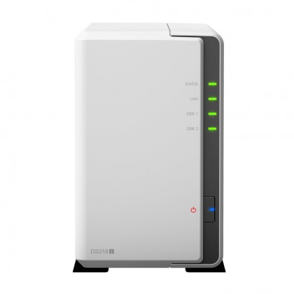 DS218J NAS 2 bahías - Marvell Armada ARM 2 núcleos 1.3Ghz, 512MB DDR3