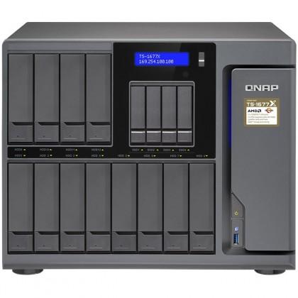 TS-1677X-1700-16G NAS 16 bahías - AMD Ryzen 7 1700, a 3,7GHz, 16 GB DDR4