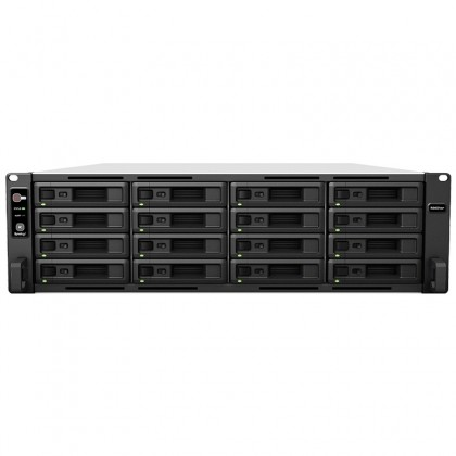 RS4021xs+ NAS 16 bahías Rack - Intel Xeon D-1541 8 núcleos 2.1GHz (hasta 2.7GHz), 8GB DDR4 ECC (max 64GB)