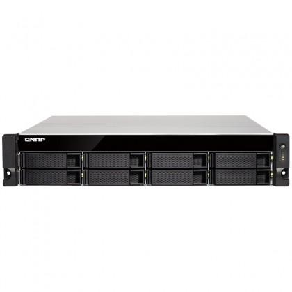 TS-831XU-4G NAS 8 Bahías Rack AL-314 4 núcleos a 1.7 GHz 4GB DDR3 (ampliable a 8GB)