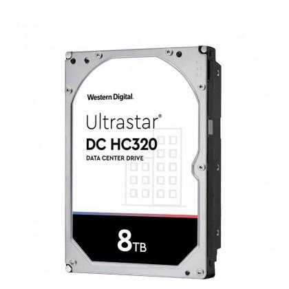 HUS728T8TALE6L4 8TB HDD 3.5 Ultrastar 0B36404 HC320 DATACENTER 256MB 7200RPM. Garantía 5 años + exclusiva 30 días reposición DOA