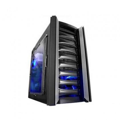 Caja ATX Raidmax Katana Negra con Ventana