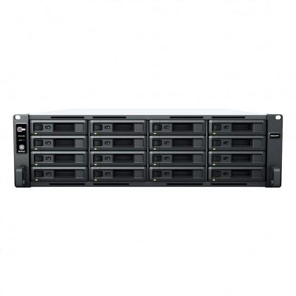 RS2821RP+ NAS 16 bahías Rack - AMD Ryzen V1500B 4 Núcleos 2.2GHz, 4 GB DDR4 ECC (max 32GB)