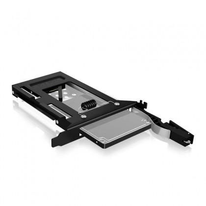 """IB-2207StS Adaptador para discos SSD 2.5"""" SATA en una bahía PCI de PC"""