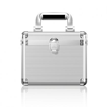 """IB-AC628 Maletín de transporte 10 discos 2.5"""" y 3.5"""""""