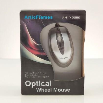Ratón óptico con conexión PS2,