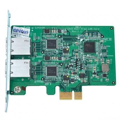 LAN-1G2T-D Tarjeta de red Original QNAP doble puerto 1 Gigabit Lan modelos torre