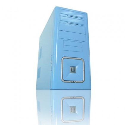Caja ATX Raidmax O2 Blue