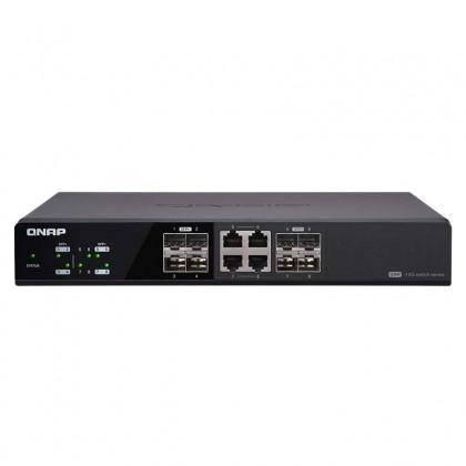 QSW-804-4C Switch QNAP 8 puertos (4 SFP+, 4 Combo (RJ45 y SFP+))