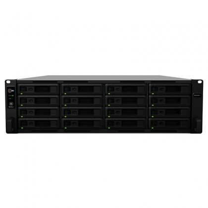 RS2818RP+ NAS 16 bahías Rack - Intel Atom C3538 4 Núcleos 2.1GHz, 4 GB DDR4 (Ampliable a 32GB)