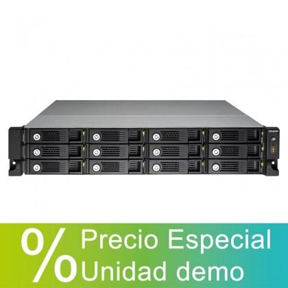 **Precio Especial** TS-1253U Nas 12 bahías - Intel Celeron 2.0GHz quad-core, RAM 4GB DDR3L