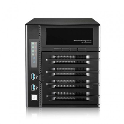 W4000+ Nas Windows 4 bahías - Intel Atom Dual-core 2.13GHz, 4GB DDR3