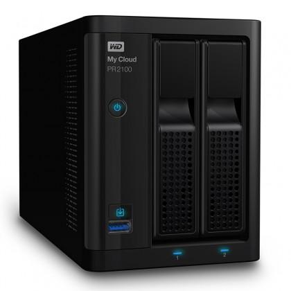 My Cloud Pro PR2100 NAS 2 Bahias - Intel Pentium N3710 quad-core 4 GB