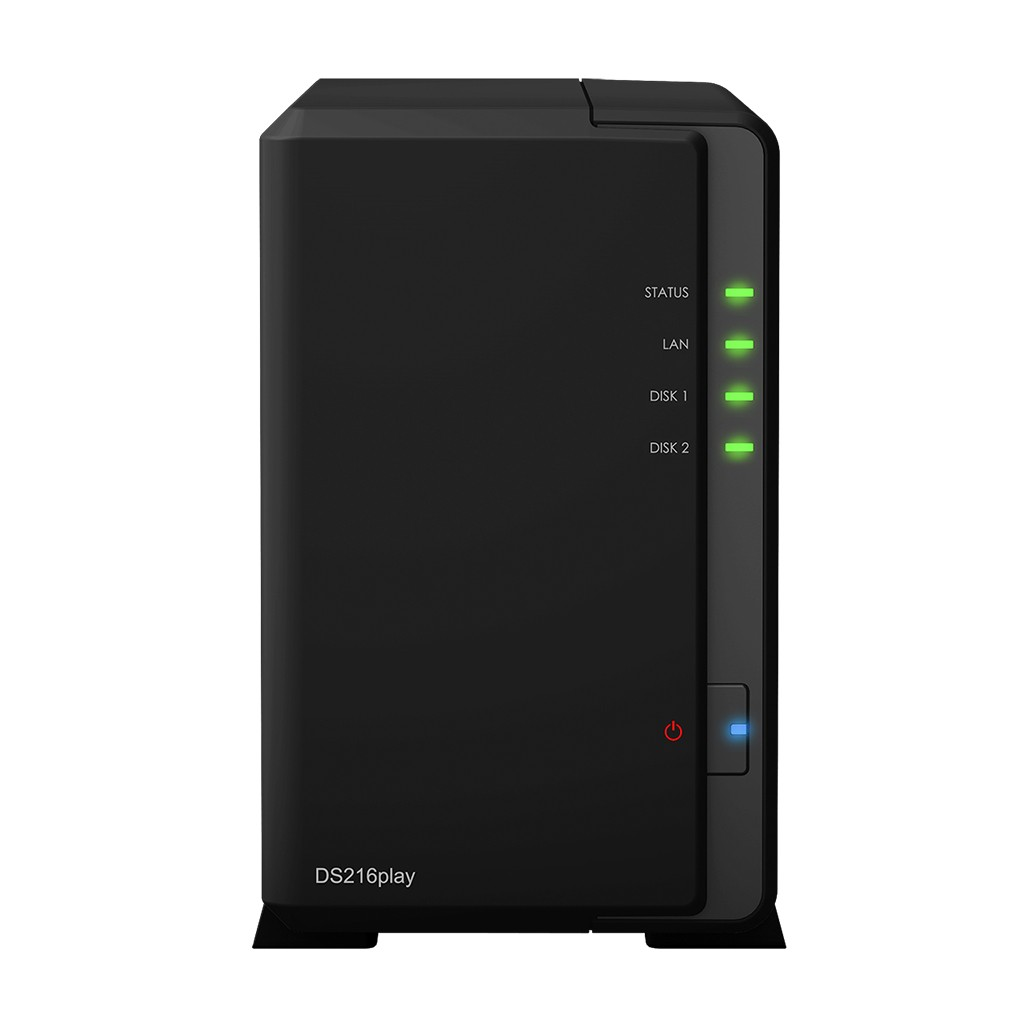DS216play NAS 2 discos - ARM STM STiH412 dual-core 1.5 GHz, RAM 1 GB DDR3