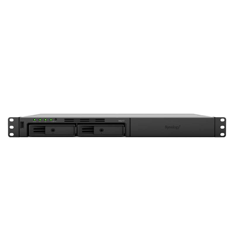 RS217 NAS 2 Bahías Rack - Marvell ARMADA 385 2 núcleos 1.33GHz, 512MB DDR3