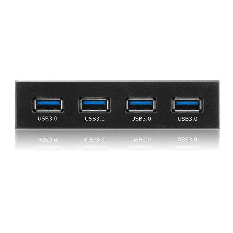 IB-866 Frontal de 4 puertos USB 3.0