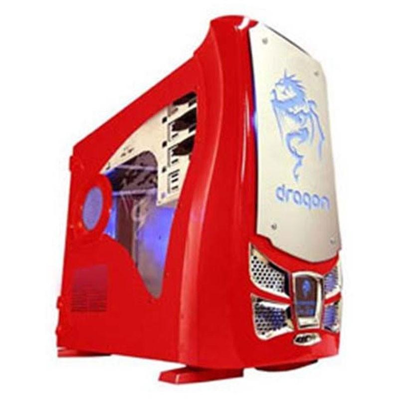 XG Dragón Roja Aluminio Caja Modding