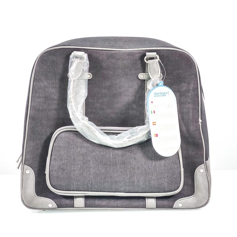 Bolso Milano Tote grey 15.4 pulgadas Nylon gris lavado a la piedra (Pack 6)