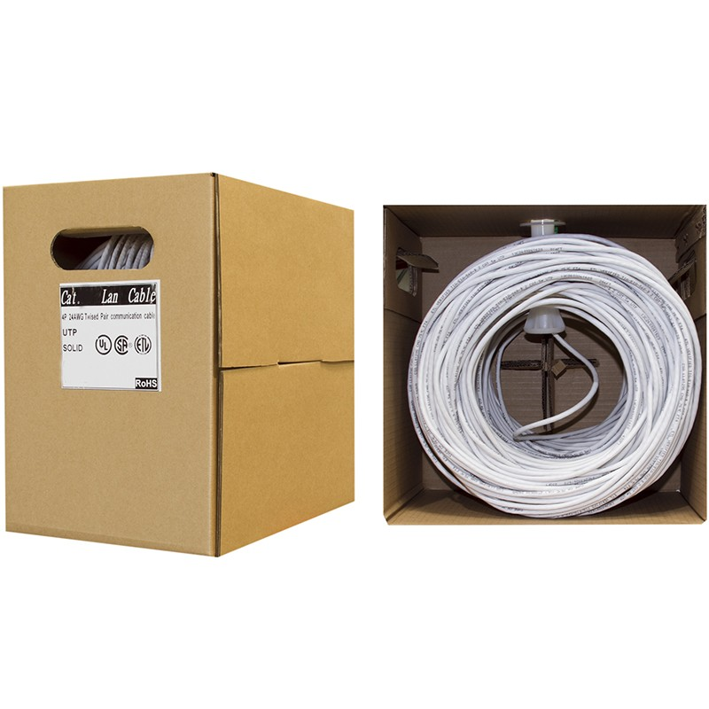 CAT6GR30480 Cable de Red Ethernet 304,8m - Bobina - Cat6 Sin conectores - Gris