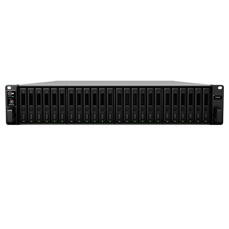 FS3400 NAS 24 bahías SSD SAS Xeon D-1541 8 núcleos 2.1GHz hasta 3.0GHz - 16GB DDR4 ECC (max 128GB)