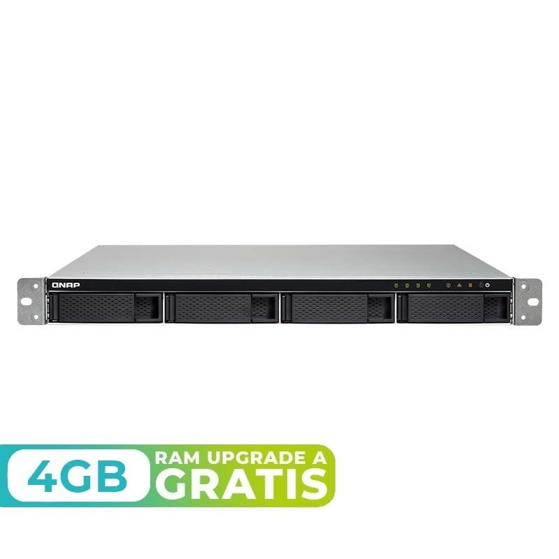 TS-432XU-RP-2G NAS rack 4 Bahías - Annapurna AL-324 4 núcleos 1.7GHz, 2GB DDR4 (max 16GB)