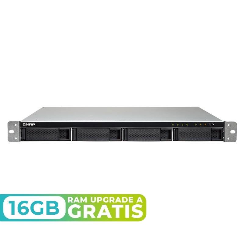 TVS-972XU-4GB NAS rack 9 bahías (SSD x5) - Intel Core i3-8100 4 núcleos 3.6 GHz, 4GB DDR4 (max 64GB)