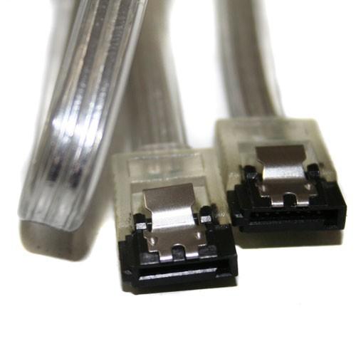 Cable SATA 7 Pines Clip seguridad