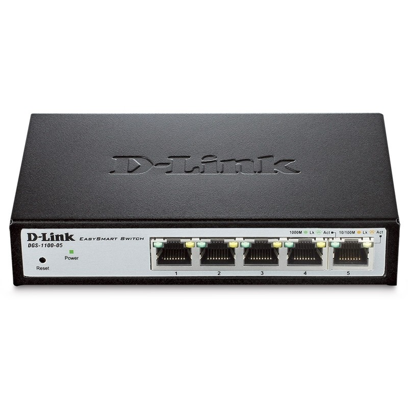 DGS-1100-05 Switch 5 Puertos Gigabit LAN