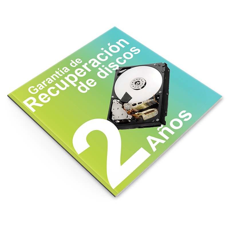 Garantía de Recuperación de Datos 2 años, NAS 2 discos