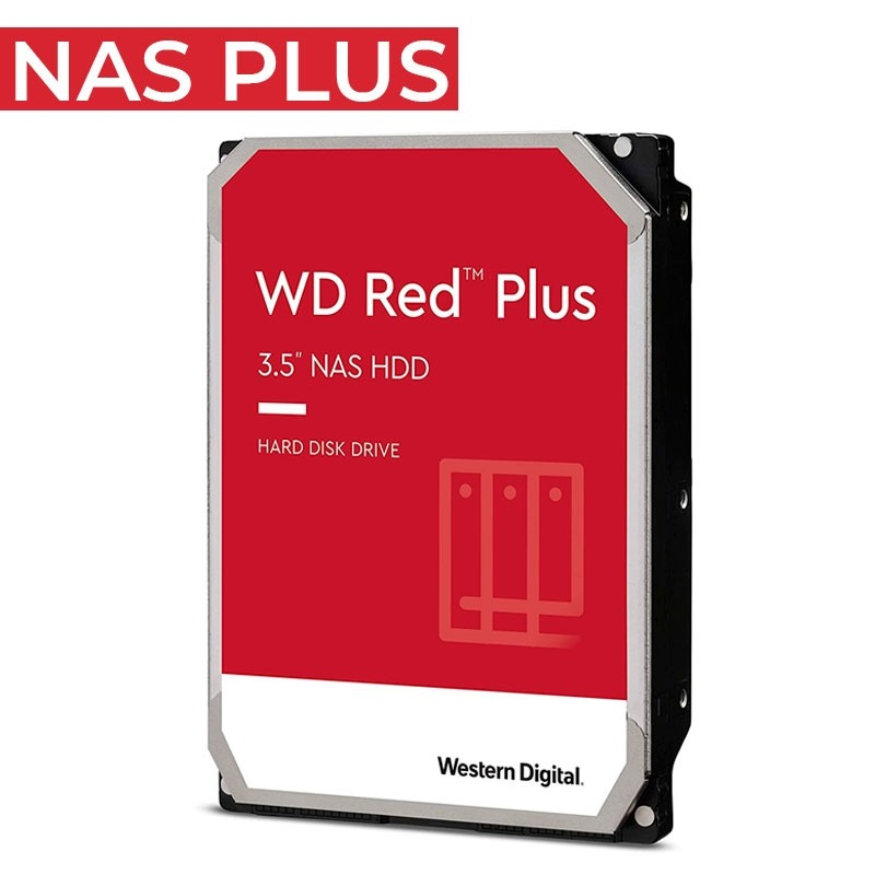 WD 4TB RED NAS PLUS