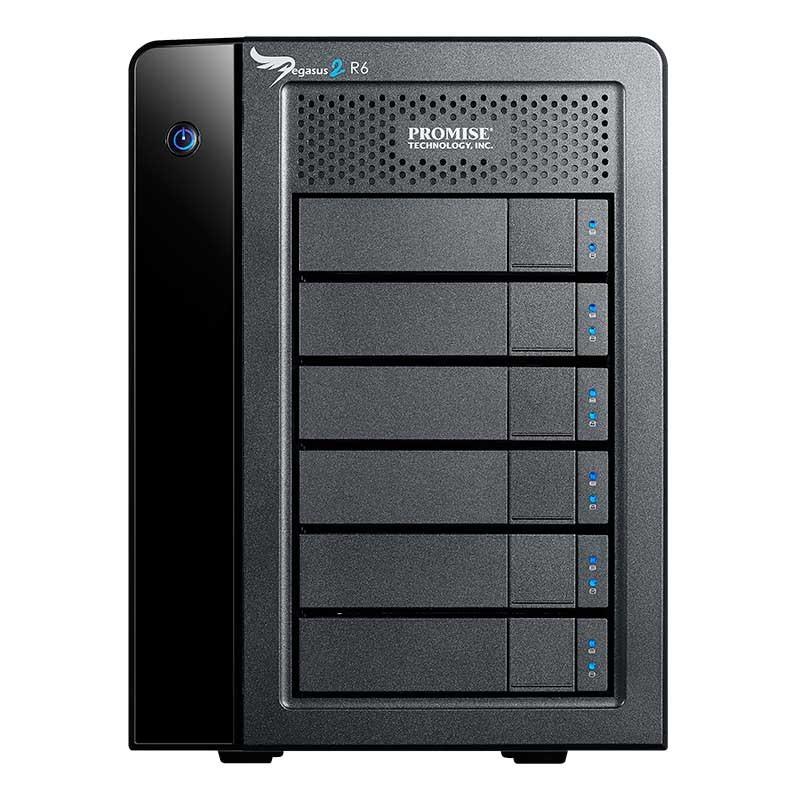 Pegasus 2 R6 Disponible en 12TB y 18TB