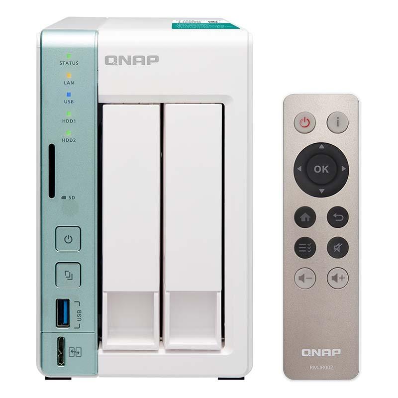 Servidor NAS con mando y HDMI