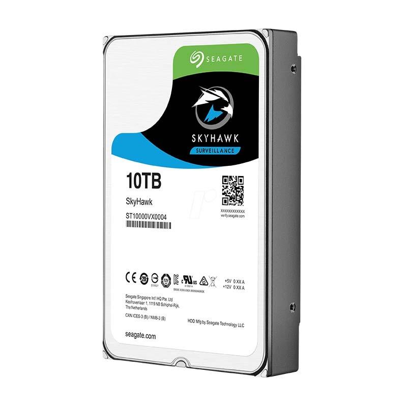 """ST10000VX0004 10TB Disco Duro 3.5"""" Edición SKYHAWK 256MB"""