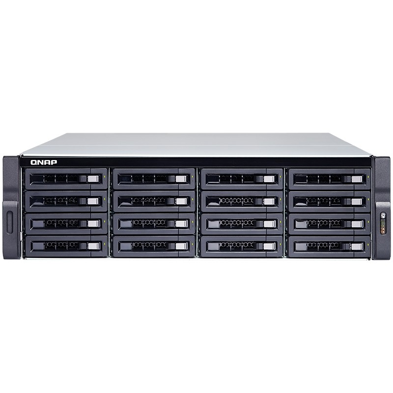TS-1673U-RP-16G NAS 16 Bahias Rack AMD R-Series RX-421ND quad-core 2.1GHz (Hasta 3.4GHz) 16GB DDR4