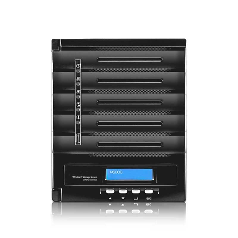 W5000+ Nas Windows 5 bahías - Intel Atom Dual-core 1.86GHz, 4GB DDR3