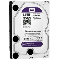 "WD60PURX 6TB Disco duro 3.5"" Edición PURPLE 5400RPM 64MB"