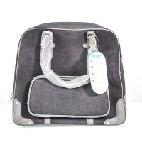 Bolso Milano Messenger grey 15.4 pulgadas Nylon gris lavado a la piedra (Pack 5)