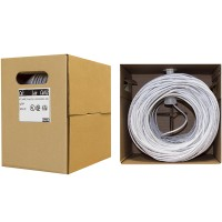 CAT6GR30480 Cable de Red Ethernet 304,8m - Bobina - Cat6 Sin conectores - Gris
