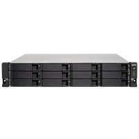 TS-1273U-RP-8G NAS 12 Bahias Rack AMD R-Series RX-421ND quad-core 2.1GHz (Hasta 3.4GHz) 8GB DDR4