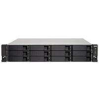 TS-1273AU-RP NAS rack 12 Bahias - AMD Ryzen V1500B cuatro núcleos a 2,2 GHz, 8GB DDR4 (max 32GB)