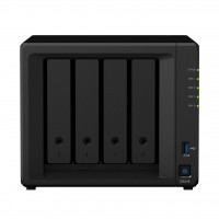 DS418 NAS 4 bahías - Realtek RTD1296 4 núcleos 1.4GHz, 2GB DDR4