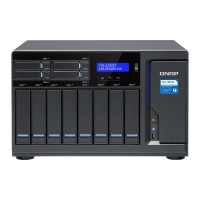 TVS-1282T3-i5-16G NAS 12 bahías 8xHDD 4xSSD - Intel Core i5 3.4 GHz quad-core, 16GB DDR4
