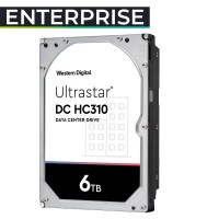 HUS726T6TALE6L4 6TB HDD 3.5 Ultrastar 0B36039 HC310 DATACENTER 256MB 7200RPM. Garantía 5 años + exclusiva 30 días reposición DOA