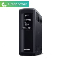 SAI CyberPower VP1600ELCD 1600VA/960W 5 enchufes + LCD + USB + GREENPOWER