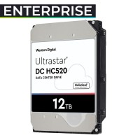 HUH721212ALE604 12TB HDD 3.5 Ultrastar 0F30146 HC520 DATACENTER 256MB 7200RPM HELIO. Garantía 5 años + exclusiva 30 días reposición DOA