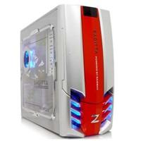 Sagitta-921-SR Caja ATX Raidmax Sagitta 921 - Silver/Red
